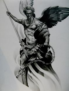 Saint Michael Tattoo Designs