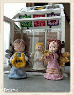 christmas creche,crochet,haken,santons de provence,kerstfiguren,kerstgroep