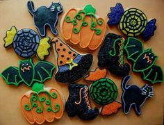 Pinterest Halloween Cookies | Halloween Cookies | Holidays | Pinterest