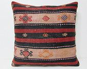 kilim pillow 24x24 big throw pillow big kilim pillow extra large cushion floor pouffe large kelim rug large couch pillow large kilim 22699