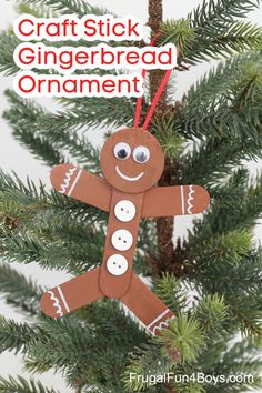 Christmas Arts And Crafts, Preschool Christmas, Christmas Activities, Kids Christmas, Christmas Countdown, Christmas Decorations, Christmas Ornaments, Gingerbread Man Crafts, Gingerbread Ornaments