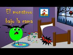 Cuento de Halloween para niños: El monstruo bajo la cama - Halloween temporada 2 cuento III - YouTube