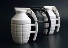 Grenade Mug Makes Mornings A Blast