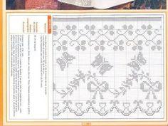 Crochê - Arte de Bordar - Bicos e Barrados - Elaine Cristini - Álbumes web de Picasa