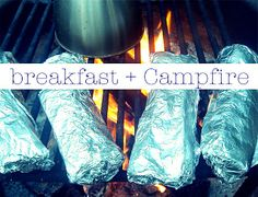 Camp Fire Meal Ideas~ Simple and many pre-made! Get them today!!!