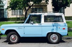 Baby Blue Bronco