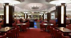 The latest photographs of MASH London. The interior art deco restaurant