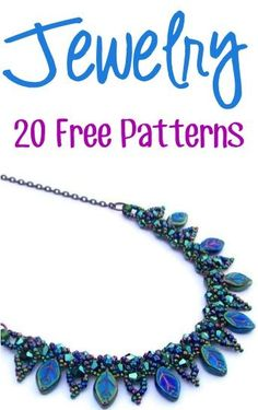 20 Free Jewelry Patterns!