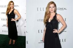 Ohlaleando internacional: mirá lo que se puso Kristen Stewart  Amy Adams estuvo en los Elle Women in Hollywood Awards en Los Angeles con un vestido midi negro con transparencias y detalles de encaje y pedrería de Lanvin