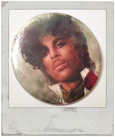 "80's Prince - Large 2.25"" Pin Back Button OR Pocket Mirror"
