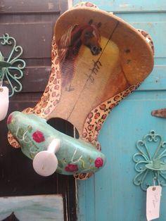 Handpainted saddle tree