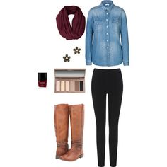 Fall outfit for school