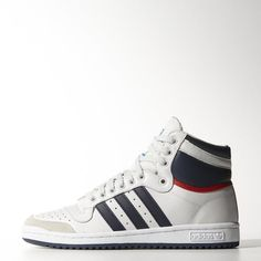new style 4d97a 68abf The men s Top Ten Hi shoes take to the streets with synthetic and the  original padded tongue that shows off a Top Ten logo. They feature a full  grain ...