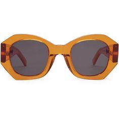 Karen Walker Eyewear Patsy Sunglasses ❤ liked on Polyvore