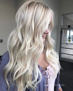 Likes, 55 Comments - Michigan Cool Toned Blonde Hair, Blonde Hair With Red Tips, Ice Blonde Hair, Platinum Blonde Hair, Babylights Blonde, Balayage Hair Blonde, Which Hair Colour, Colored Hair Tips, Bright Blonde
