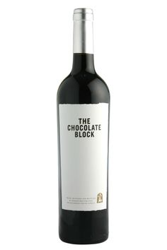 """Wine Spectator  """"the wine that has rocketed to popularity here is the 2011 Chocolate Block, a blend of Syrah, Grenache, Cabernet Sauvignon, Cinsault and Viognier. It's winey and dark, with sanguine and roasted apple wood notes which permeate the dark blackberry and black cherry fruit, finishing with spice and pepper."""""""