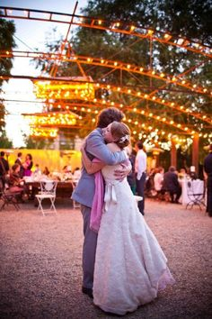 Fun, beautiful, rustic wedding on stylemepretty.com!