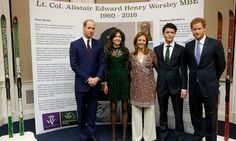 Prince Harry and the Duke of Cambridge met with Henry Worsley's family: his daughter Alicia, widow Joanna and son Max during the inaugural Endeavour Fund Awards ceremony.