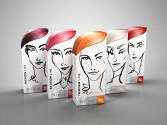 Intence Haarfärbeprodukte