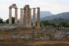 Temple of Zeus, Nemea, Greece.