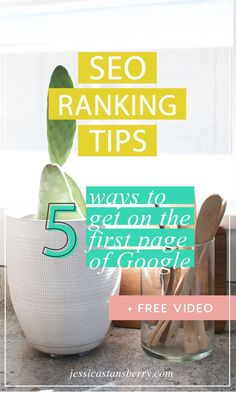 Getting on that first page of Google IS something you can do with these SEO ranking tips.  Follow these 5 ways to get on the first page of Google super fast.