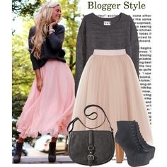 Blogger Style: Fanny Staaf, created by jasminerb on Polyvore