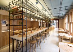 """OPSO restaurant by K-studio references """"old Athenian eateries"""""""