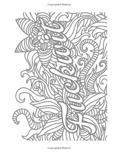 Swear Word Coloring Book 2 An Adult Coloring Book Of 40
