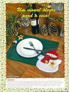 Varrogató: Karácsonyi tányéralátét