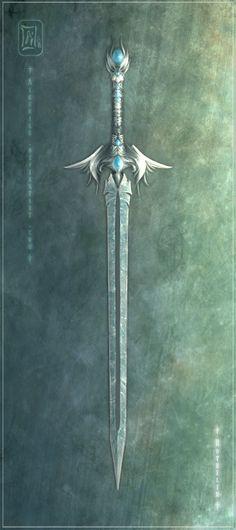 The weapon of a fallen deva.