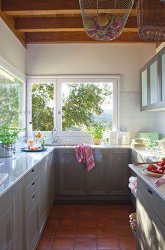 20 ideas para cocinas pequeñas · ElMueble.com · Cocinas y baños