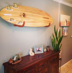 Special Combo for Surfer Dad! Microfiber Changing Poncho(Dark Grey) One-Size Fits All Wetsuit Changing Mat, Bag The COR Wood Surfboard Wall Display Rack + 2 Bl Surf Decor, Surfboard Wall Rack, Surfboard Storage, Wood Rack, Dark Wood Stain, Wall Racks, Wood Wall Decor, Wooden Walls, My New Room