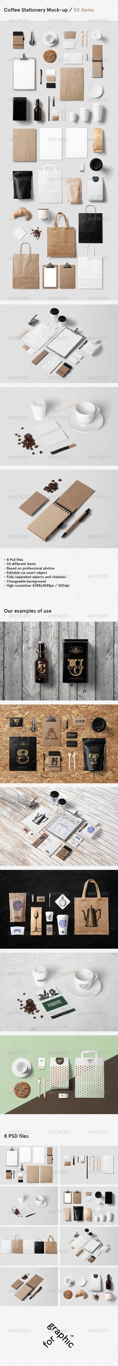 Coffee Branding / Stationery Mock-Up