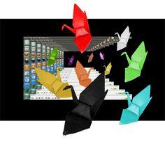 Viajando com os Tsurus no software de reproduçao multimídia, o VLC