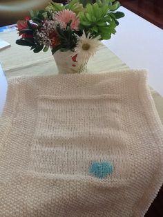 Heart knitting