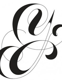 Typography - White and Black - Letter Y- Repinned by UXSherlock.