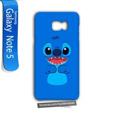 Stitch Face Samsung Galaxy Note 5 Case Cover Wrap Around - Cases, Covers & Skins