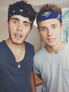 Alfie Deyes and Marcus Butler ;)