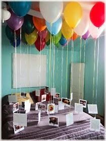 The Best DIY and Decor: Birthday surprise with balloons