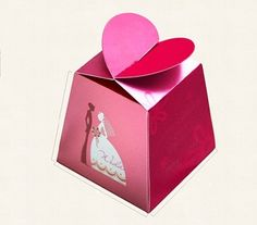 We love this #heart shaped #packaging!