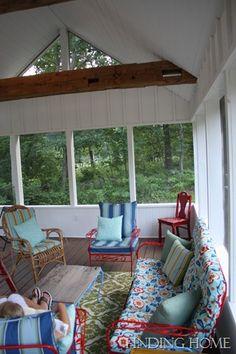 Screened Porch Progress