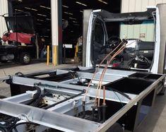 Navion chassis rails