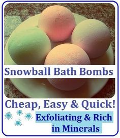 DIY Bath Bombs / Fizzies Recipe, How to Make SPA Products CHEAP, EASY