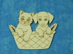 Dřevěný+výřez,+kočka+a+pes+v+košíku,+1+ks+Výřez+z+topolové+překližky+o+síle+3+mm+k+vlastnímu+kreativnímu+tvoření.+K+dotvoření+výřezu+můžete+použít+různé+materiály+a+barvy+-+ubrousky,+papíry,+textil,+akrylové+či+vodové+barvy,+pastelky+atd.+Rozměry+cca:+v.+6,5+cm+x+š.+8+cm.+Cena+za+1+kus.
