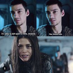 Octavia after going into Lincoln's room Lincoln The 100, Lincoln And Octavia, The 100 Tv Series, The 100 Show, Murphy The 100, Devon Bostick, The 100 Characters, American Series, The Expendables