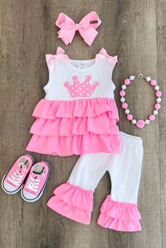 Happy 1st Fathers Day Outfits Newborn Baby Girl Clothes Short Sleeve Romper Tutu Skirt with Flash Bowknot Headband Outfit Set