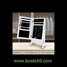 Espejo Joyero Sobremesa - 24,28 €  ¡Te presentamos este fantástico espejo joyero sobremesa! Podrás guardar y ordenar tus joyas y bisutería en este armario joyero con espejo que es también un elemento decorativo excepcional....  http://www.koala50.com/joyeros-tibores/espejo-joyero-sobremesa