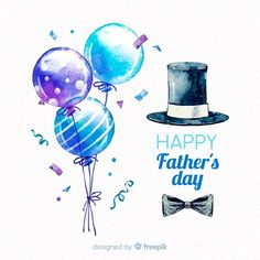 Watercolor father's day background | Free Vector #Freepik #freevector #background #watercolor #card #love Happy Fathers Day Message, Happy Fathers Day Pictures, Happy Dad Day, Happy Fathers Day Greetings, Fathers Day Banner, Fathers Day Messages, Fathers Day Wishes, Father's Day Greetings, Fathers Love