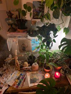 Indie Room Decor, Cute Room Decor, Aesthetic Room Decor, Room Design Bedroom, Room Ideas Bedroom, Bedroom Decor, Bedroom Inspo, Hippy Room, Cute Room Ideas