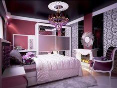 Desain R Tidur Anak Perempuan Mewah Rooms Age Bedroom Decor Purple